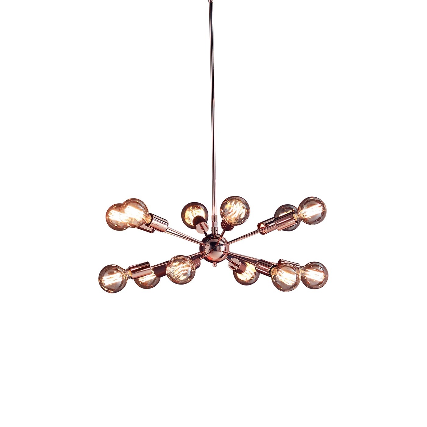 Modern Chandeliers Contemporary Chandeliers Heals Inside Copper Chandelier (Image 10 of 15)