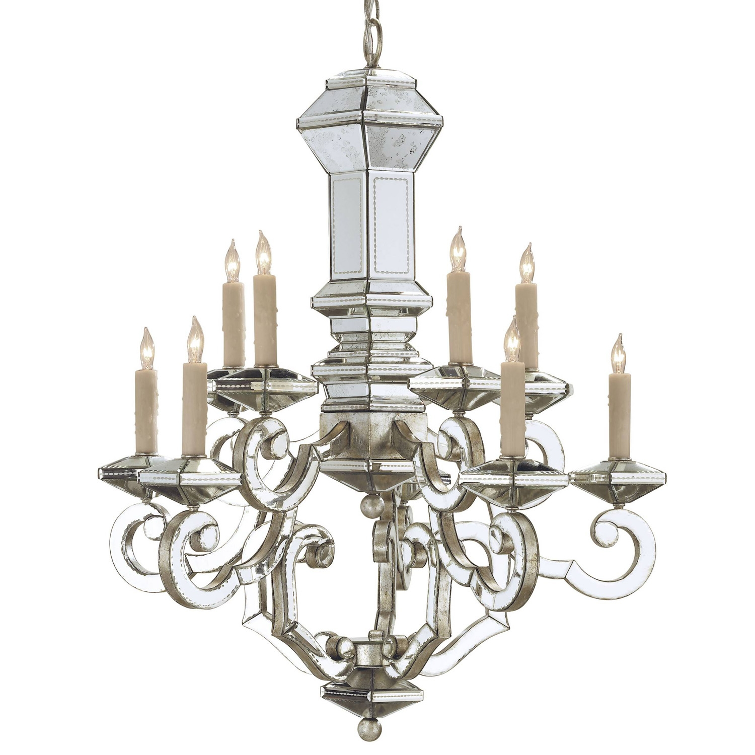 Modern Chandeliers Designer Home Decor And Furniture Top Home With Mirrored Chandelier (Image 12 of 15)