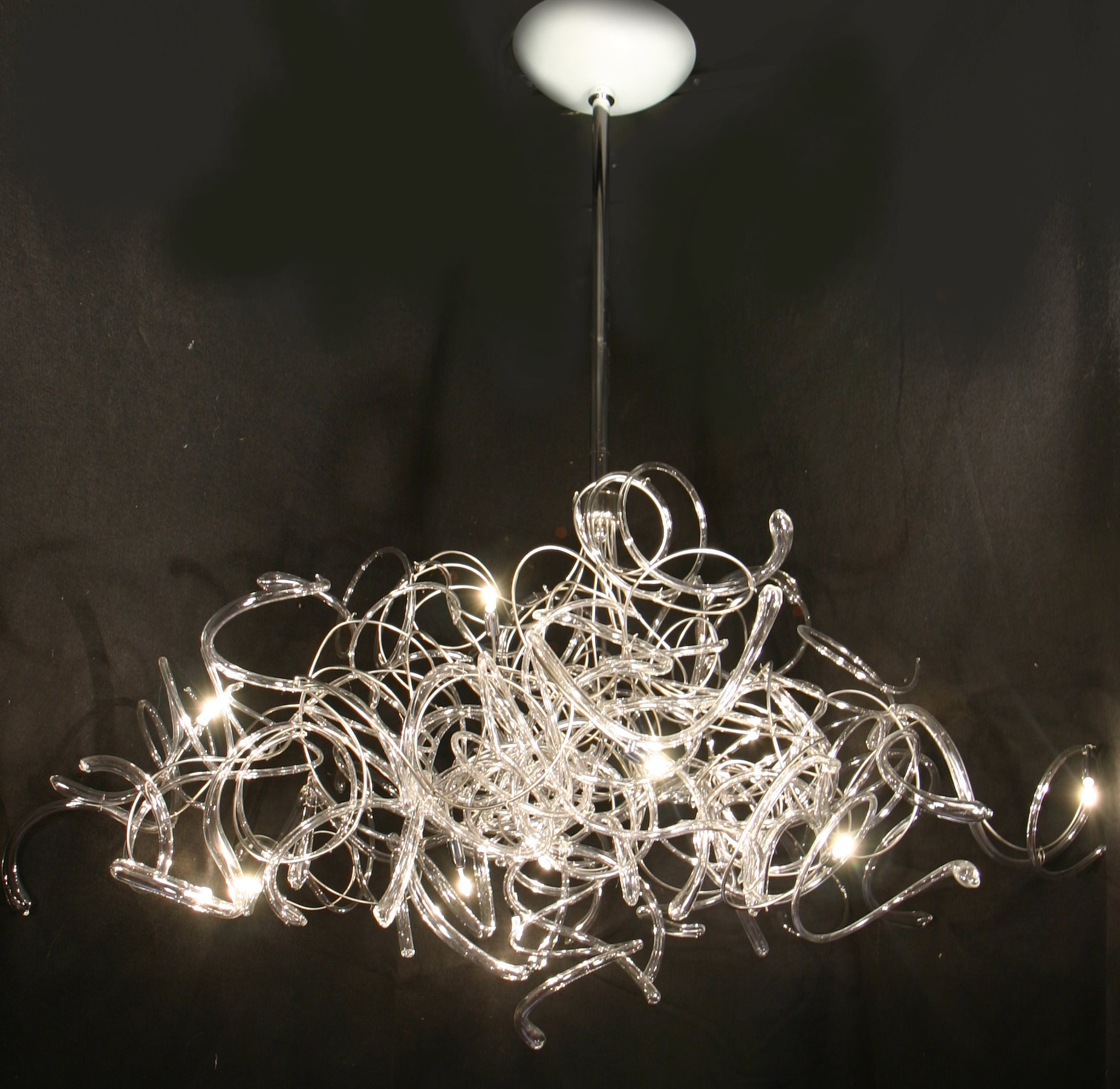 Modern Contemporary Chandelier Regarding Contemporary Chandeliers (Image 14 of 15)