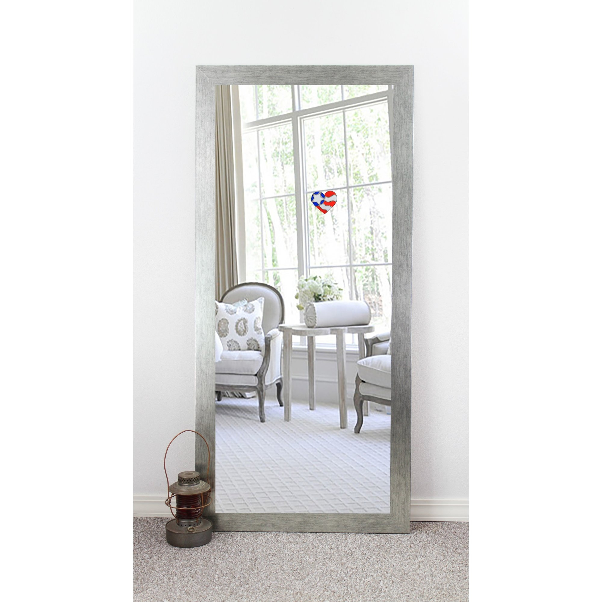 Modern Contemporary Floor Mirrors Youll Love Wayfair Inside Contemporary Floor Standing Mirrors (Image 12 of 15)