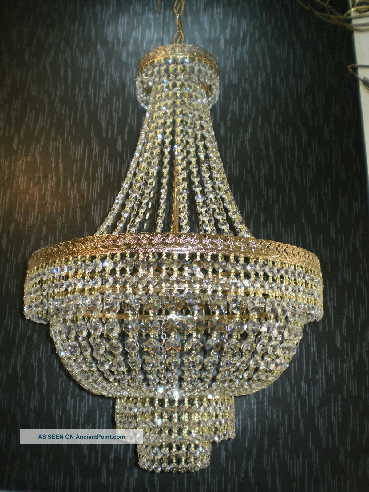 Modern Crystal Chandeliers Home Decor Within Large Crystal Chandeliers (View 13 of 15)