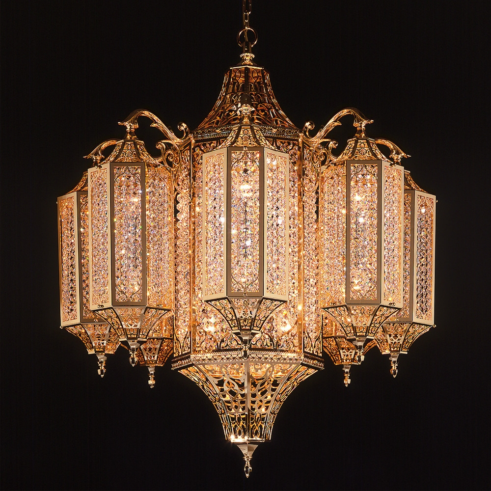 Modern Egyptian Crystal Chandelier With Cleaning Crystal Buy For Egyptian Chandelier (Photo 9 of 15)