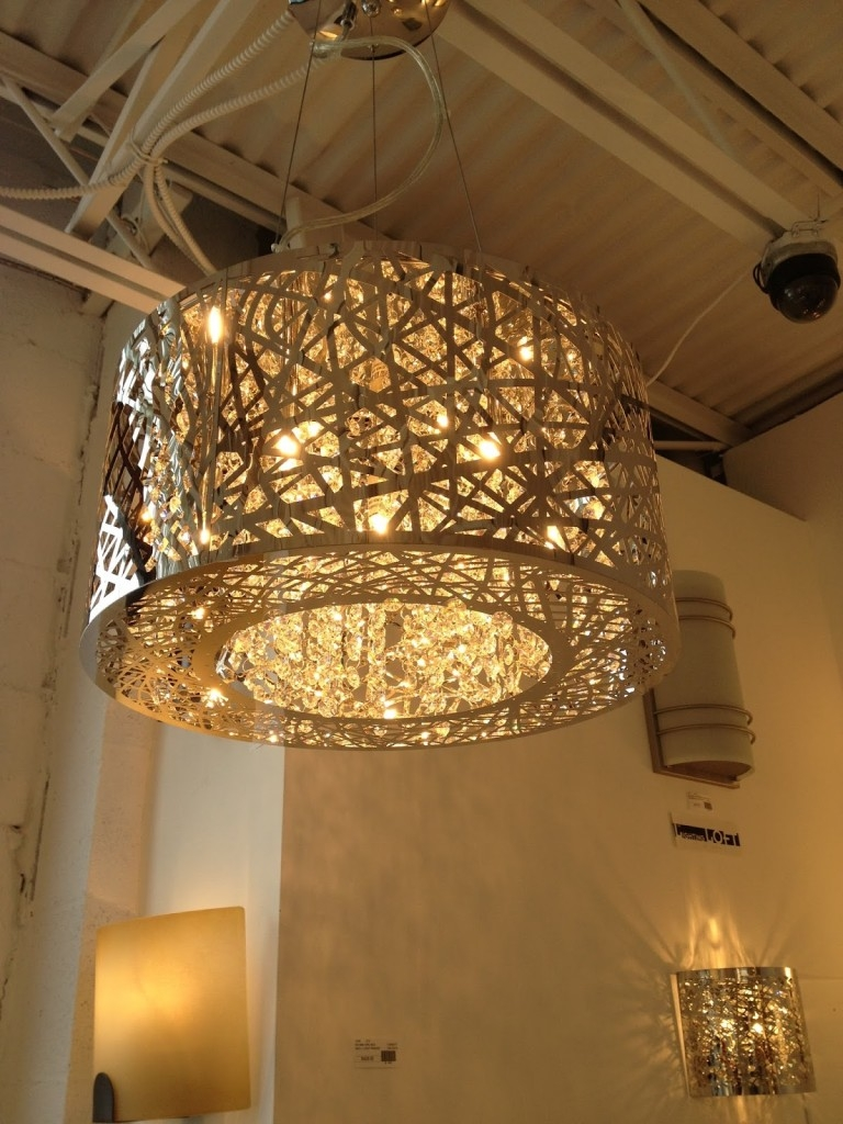 Modern Glass Chandelier Lighting For Large Chandeliers Modern (View 3 of 15)