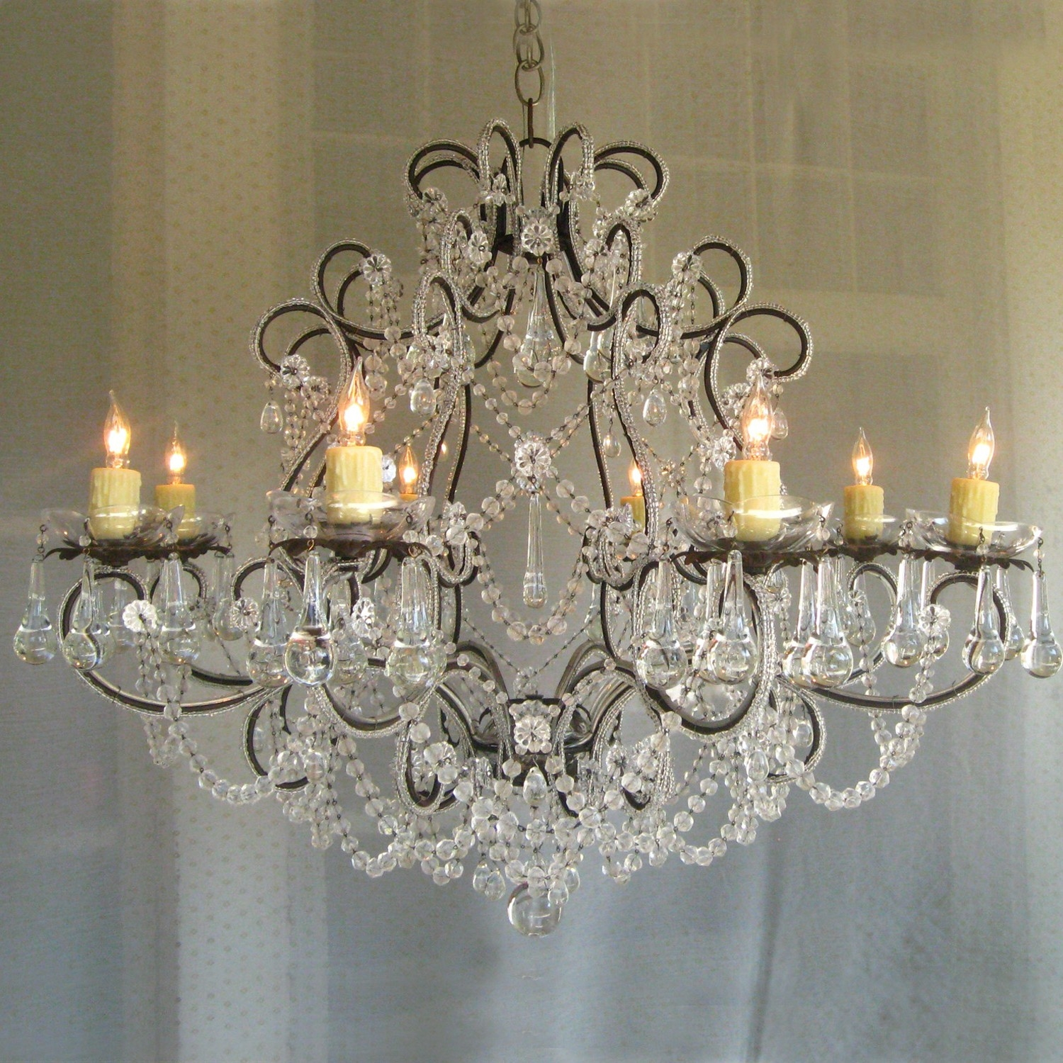 Modern Illumination Solutions Iron Chandeliers Lamp World Within Shabby Chic Chandeliers (View 14 of 15)