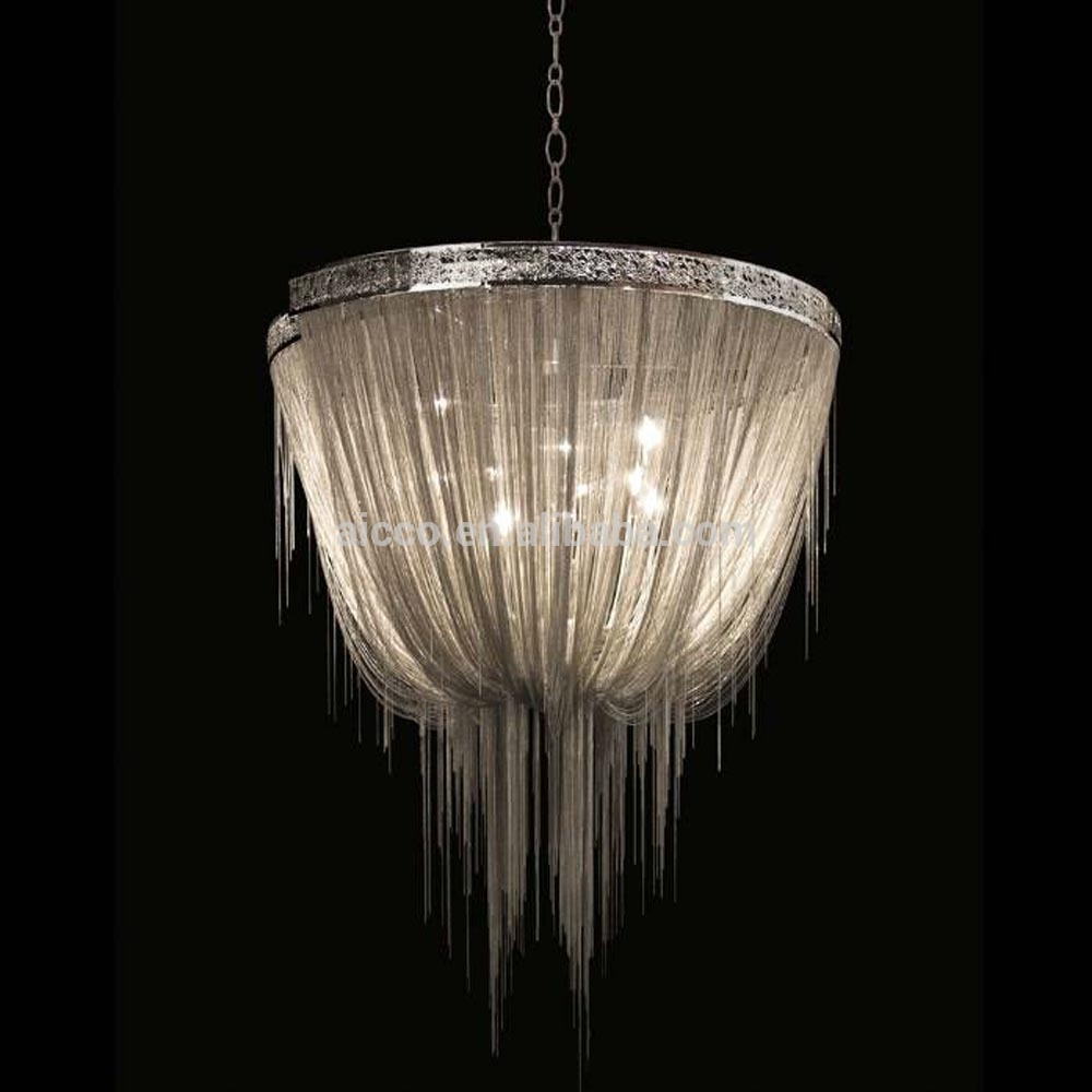 Modern Italian Decorative Lighting Chain Chandelier Light Buy In Modern Italian Chandeliers (Image 12 of 15)