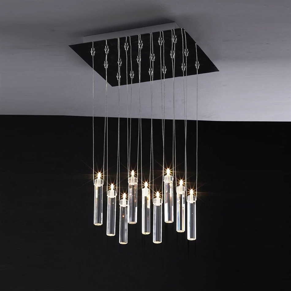 Modern Lighting Impressive Modern Light Fixtures Contemporary Intended For Contemporary Modern Chandeliers (Image 14 of 15)