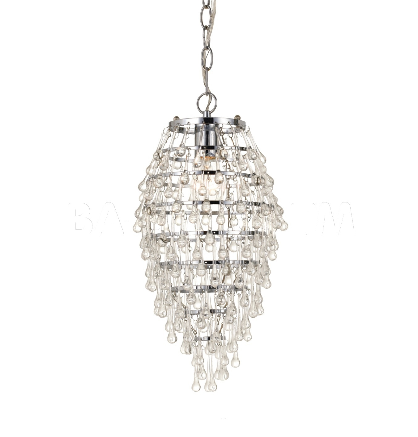 Modern Mini Chandelier Intended For Small Glass Chandeliers (Image 9 of 15)