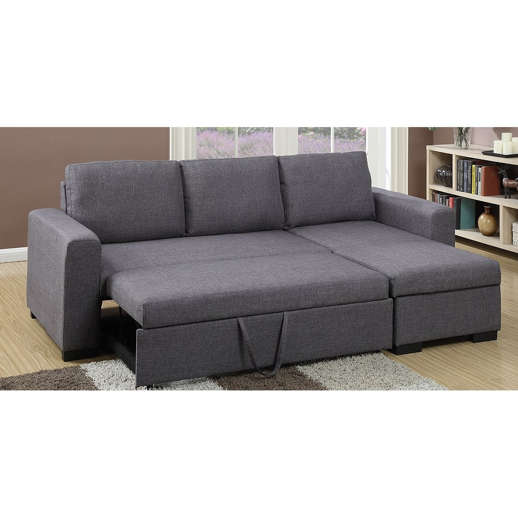 Modern Sectional Sofas Allmodern Intended For Angled Chaise Sofa (Image 10 of 15)