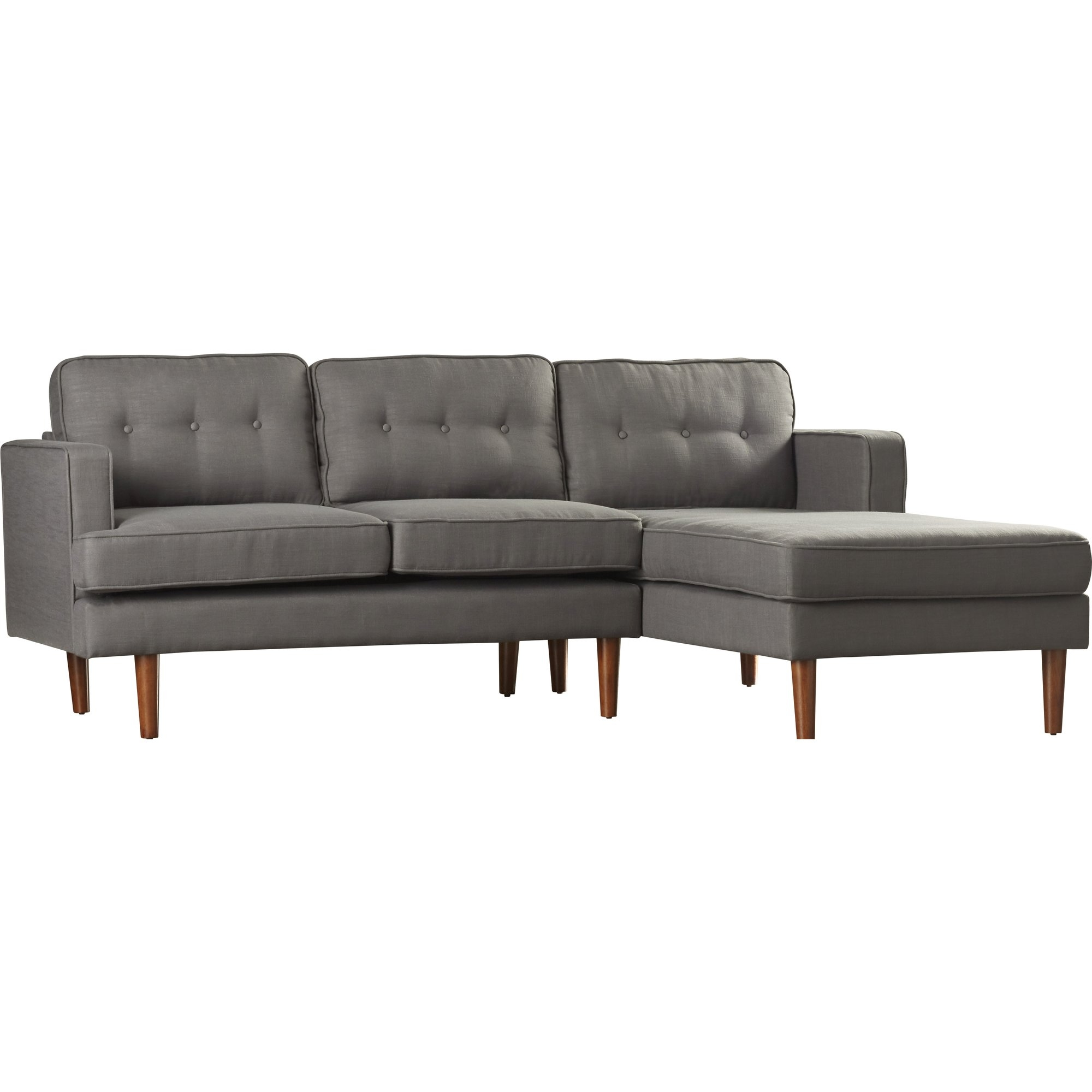 Modern Sectional Sofas Allmodern Throughout Camel Colored Sectional Sofa (Image 13 of 15)