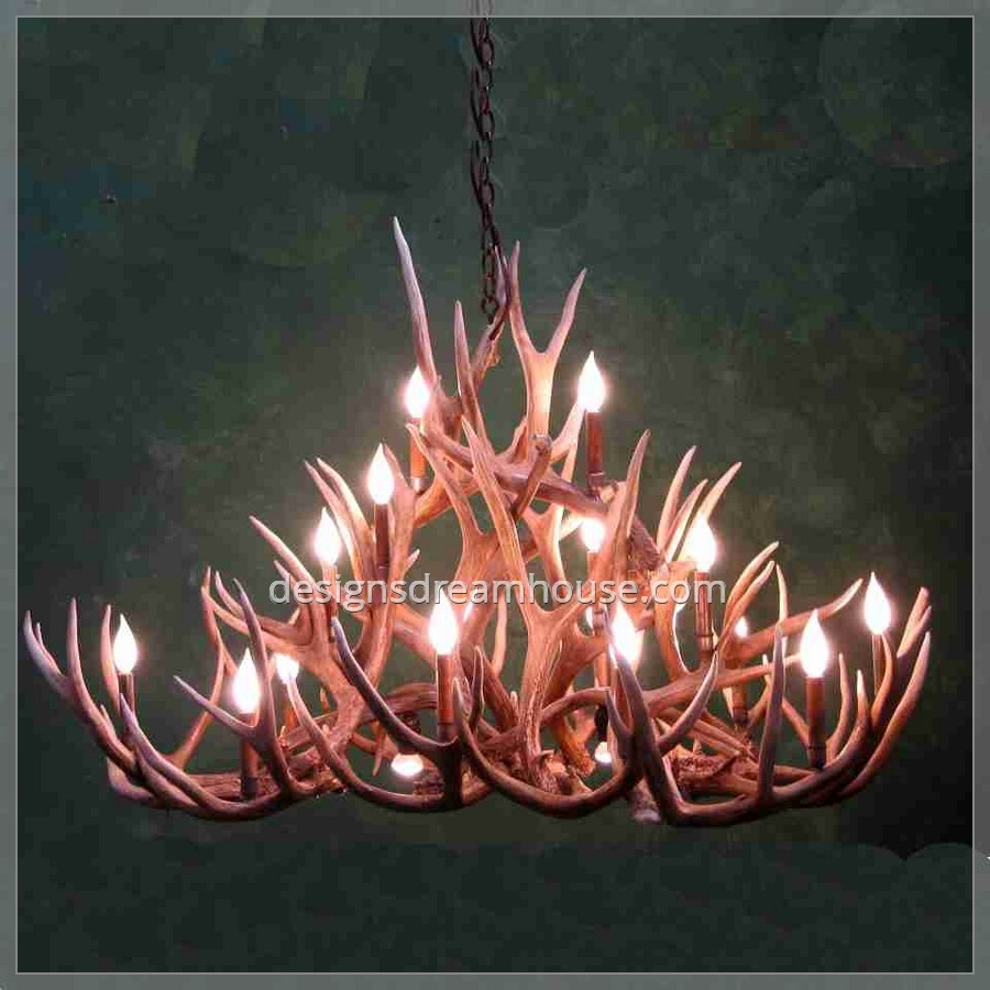 Modern Silver Antler Chandelier Home Design Gallery For Modern Antler Chandelier (Image 10 of 15)