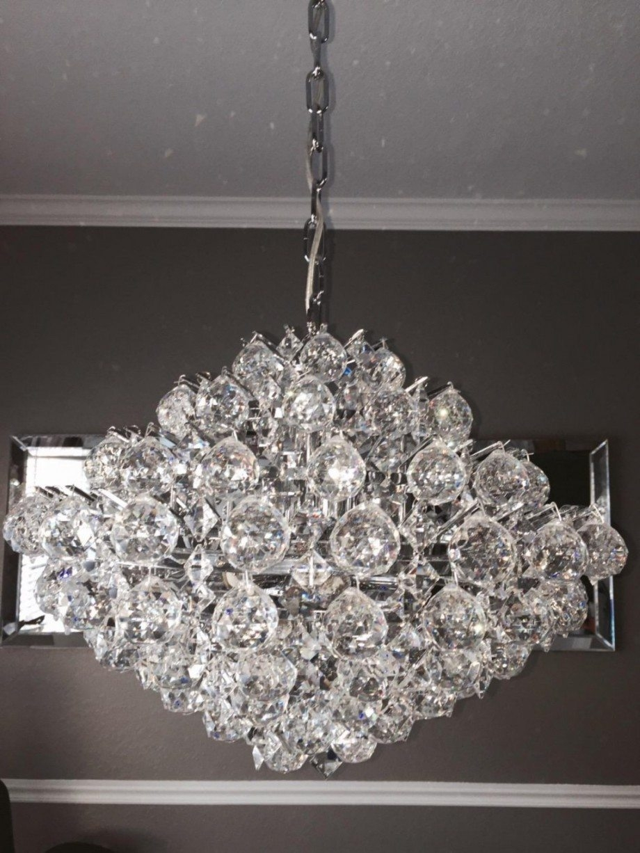 Modern Silver Crystal Chandelier 69999 Elegant Unique Exquisite Pertaining To Modern Silver Chandelier (View 10 of 15)