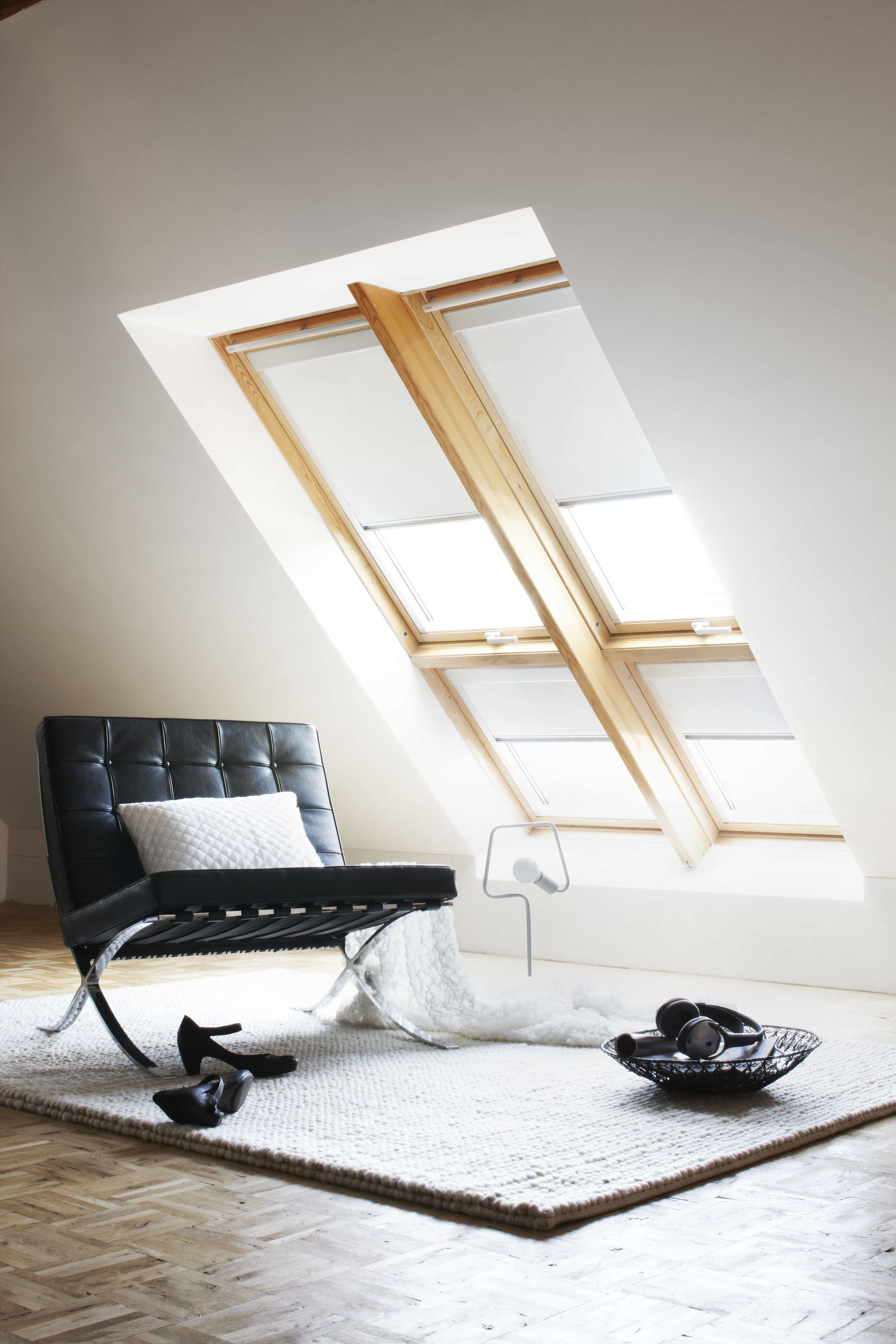 Modern Vertical Blinds For Attic Sitting Room Skylights (View 14 of 25)