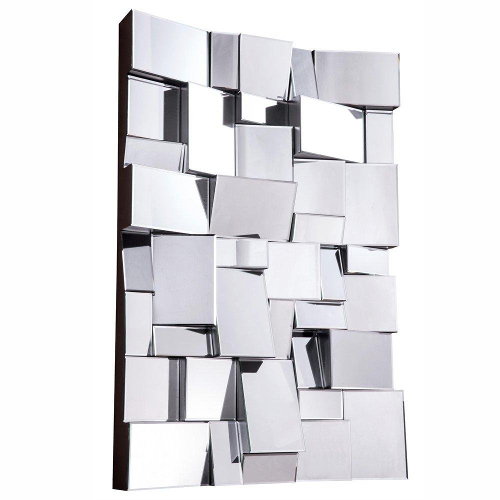 Modern Wall Mirrors Allmodern For Contemporary White Mirror (Image 11 of 15)