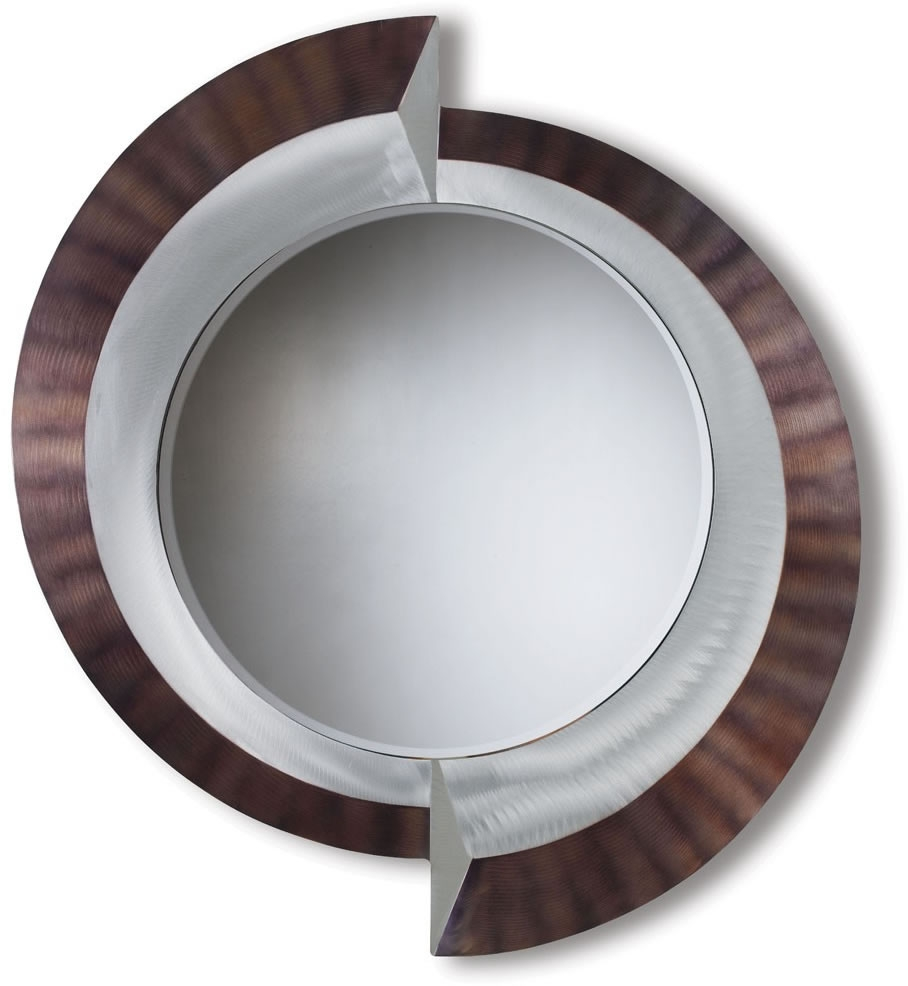 Featured Image of Round Contemporary Mirror