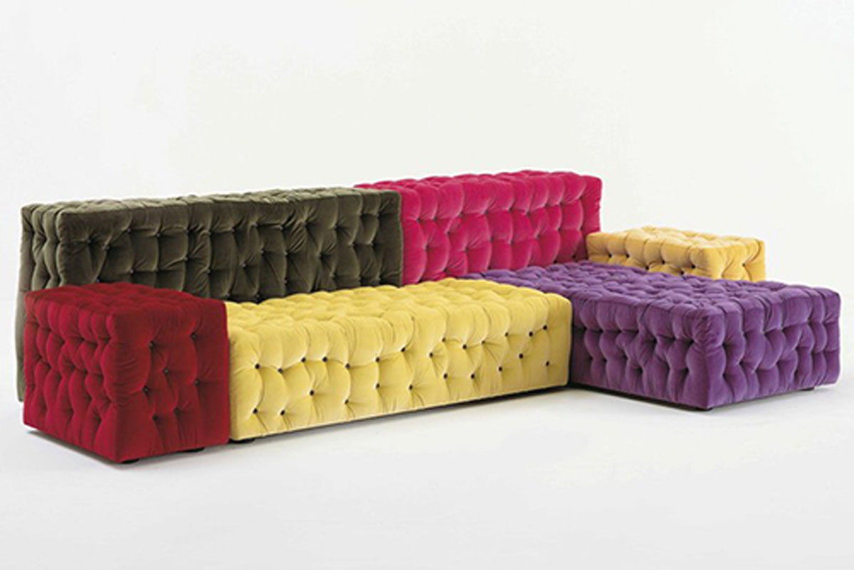 Modular Sectional Sofa Colorful Meritalia Tricks Costco Sofas For For Colorful Sectional Sofas (Image 12 of 15)