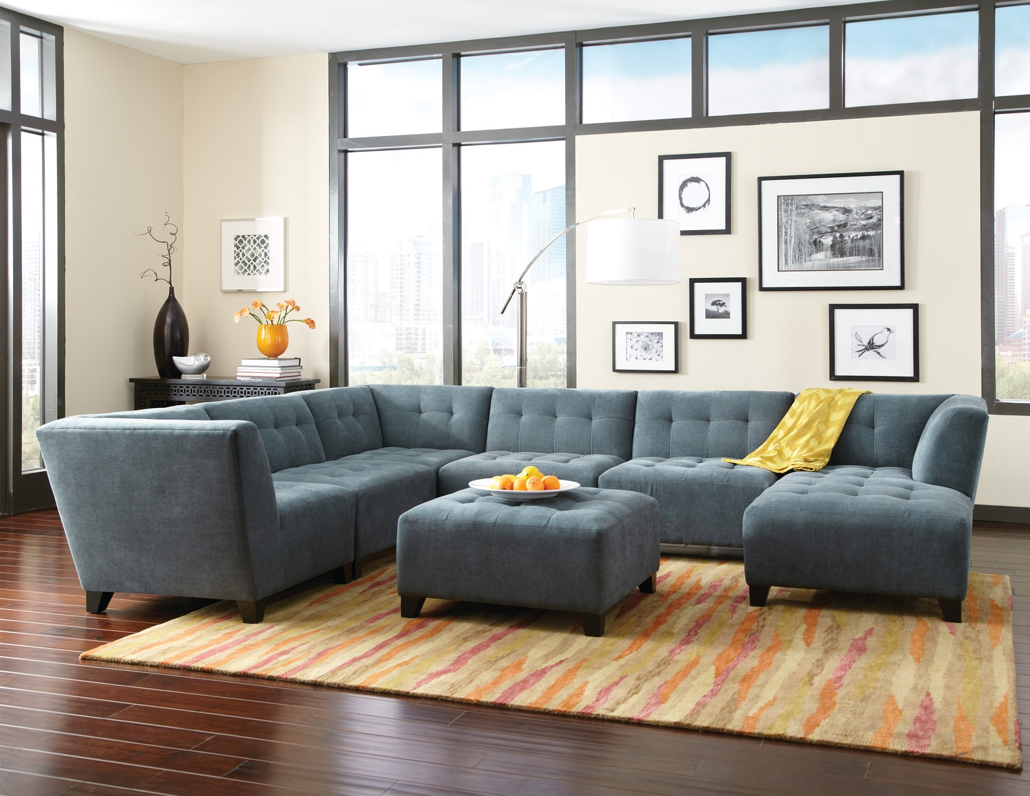 Modular Sofas For Small Es All Information Sofa Desain Ideas For 6 Piece Modular Sectional Sofa (Image 8 of 15)