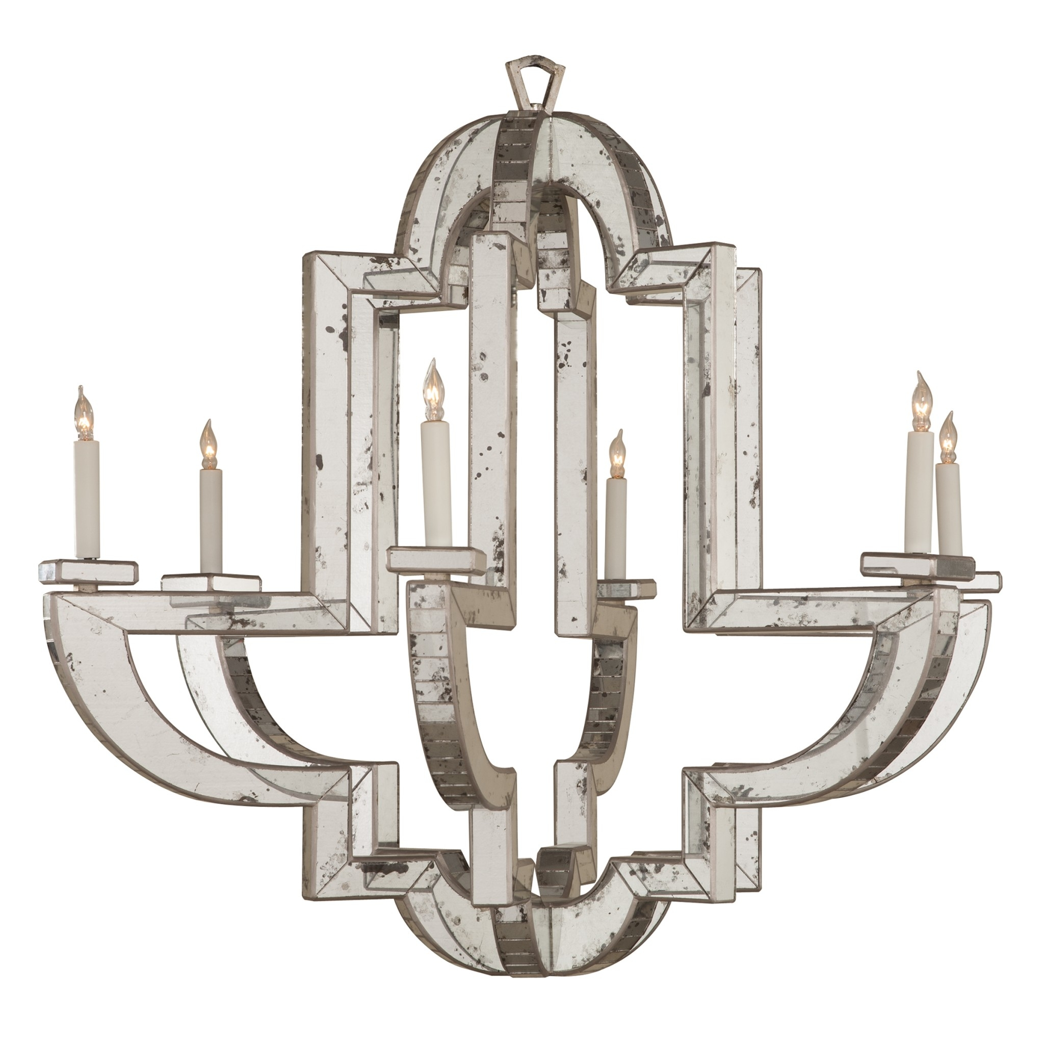 Monaco Chandelier Niermann Weeks For Antique Mirror Chandelier (Image 10 of 15)
