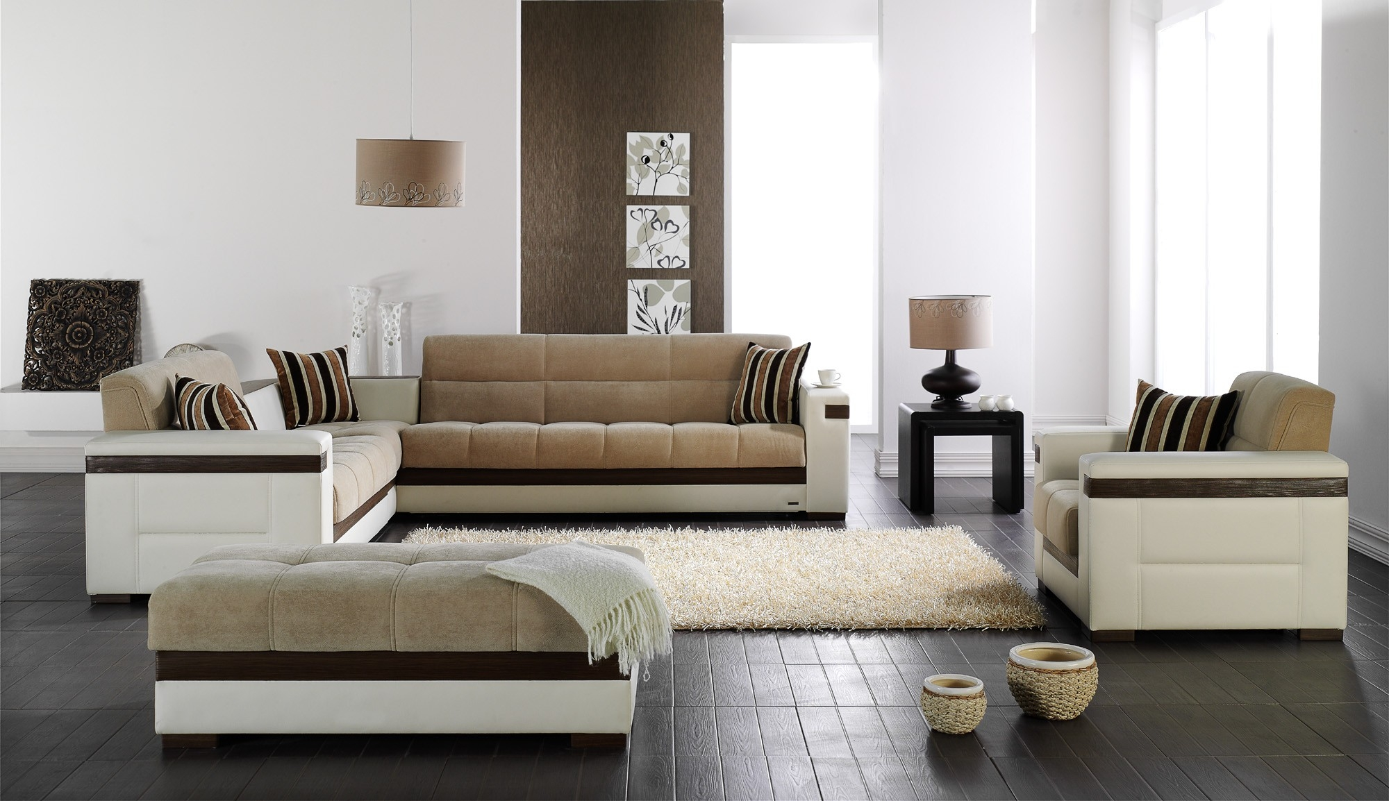 Moon Sectional Sofa Sleeper Intended For European Sectional Sofas (View 3 of 15)