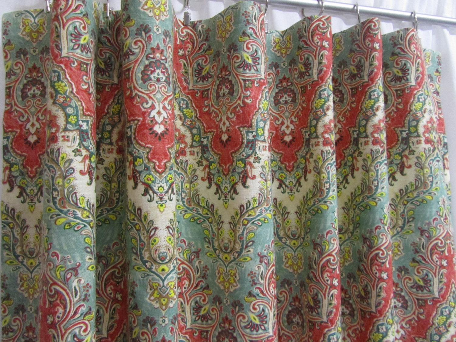 Moroccan Curtains Etsy Pertaining To Morrocan Curtains (Image 6 of 15)