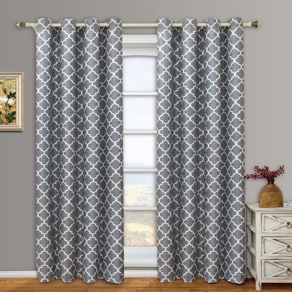 Moroccan Pattern Curtains Best Photo 2017 With Moroccan Pattern Curtains (Image 12 of 15)