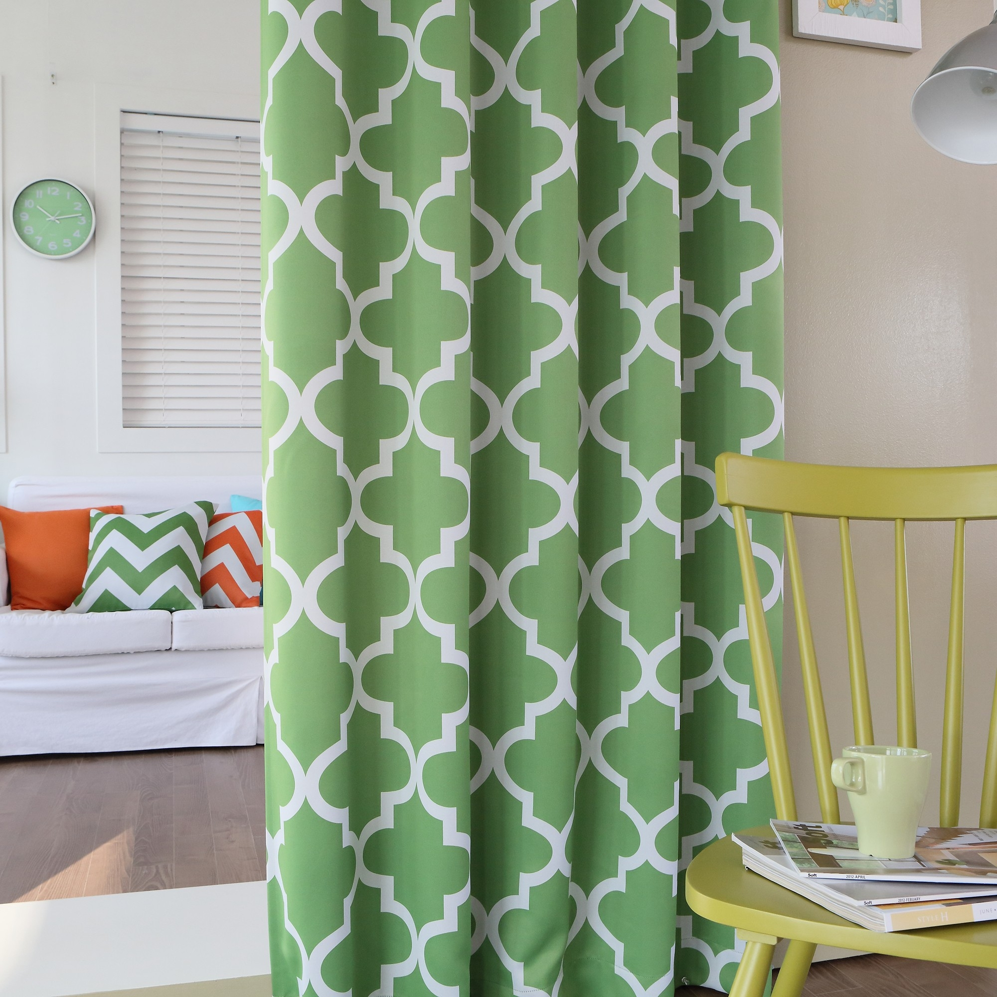 Moroccan Tile Print Curtains Best Curtains 2017 Within Moroccan Tile Curtains (Image 9 of 15)