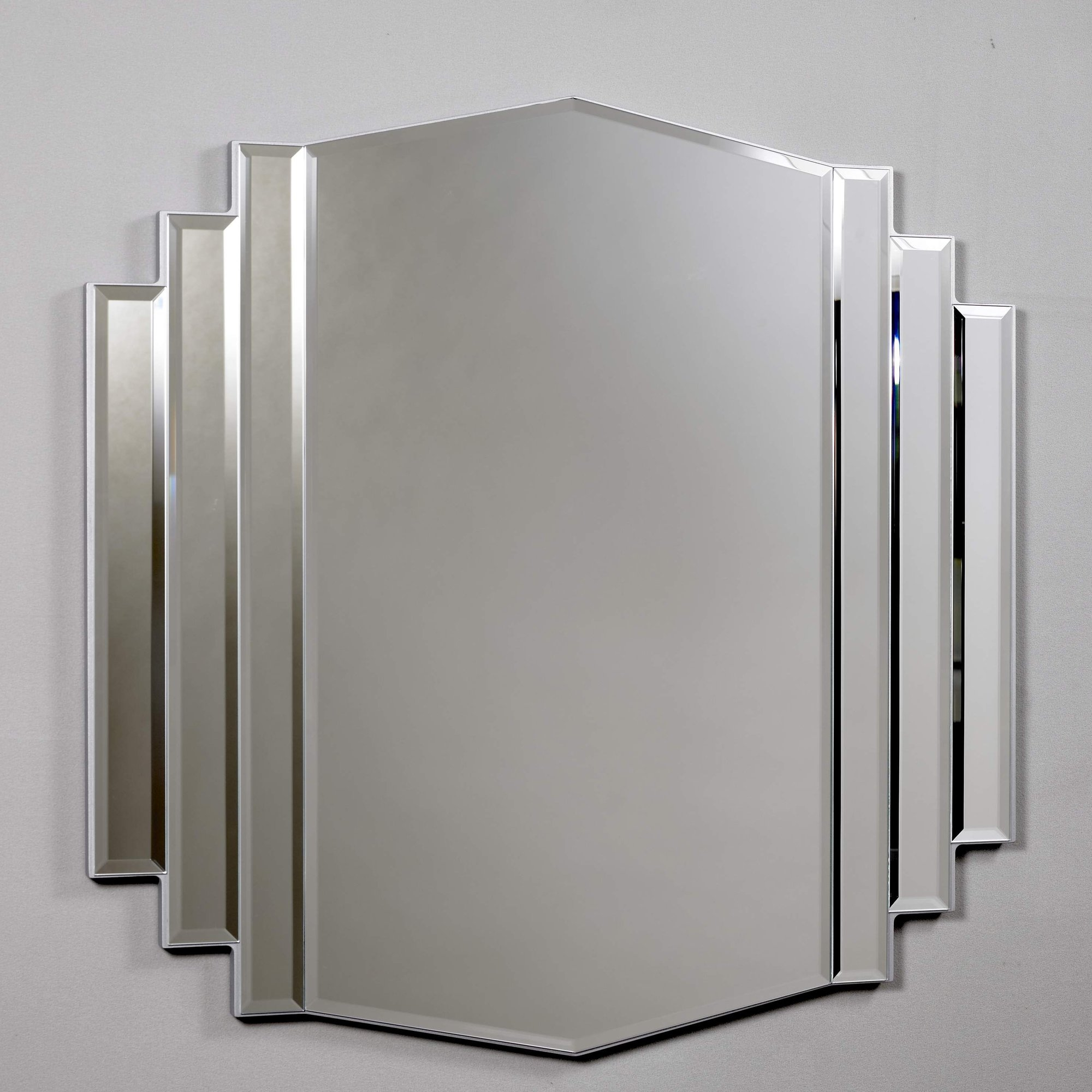 Morris Mirrors Ltd Art Deco Design Mirror Reviews Wayfaircouk Pertaining To Deco Mirror (Image 13 of 15)