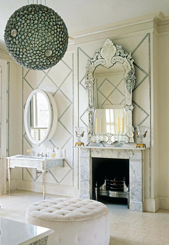 Mosaic Rectangular Mirror London Bathroom Venetian Via Alidad Ltd In Venetian Bathroom Mirror (Image 10 of 15)