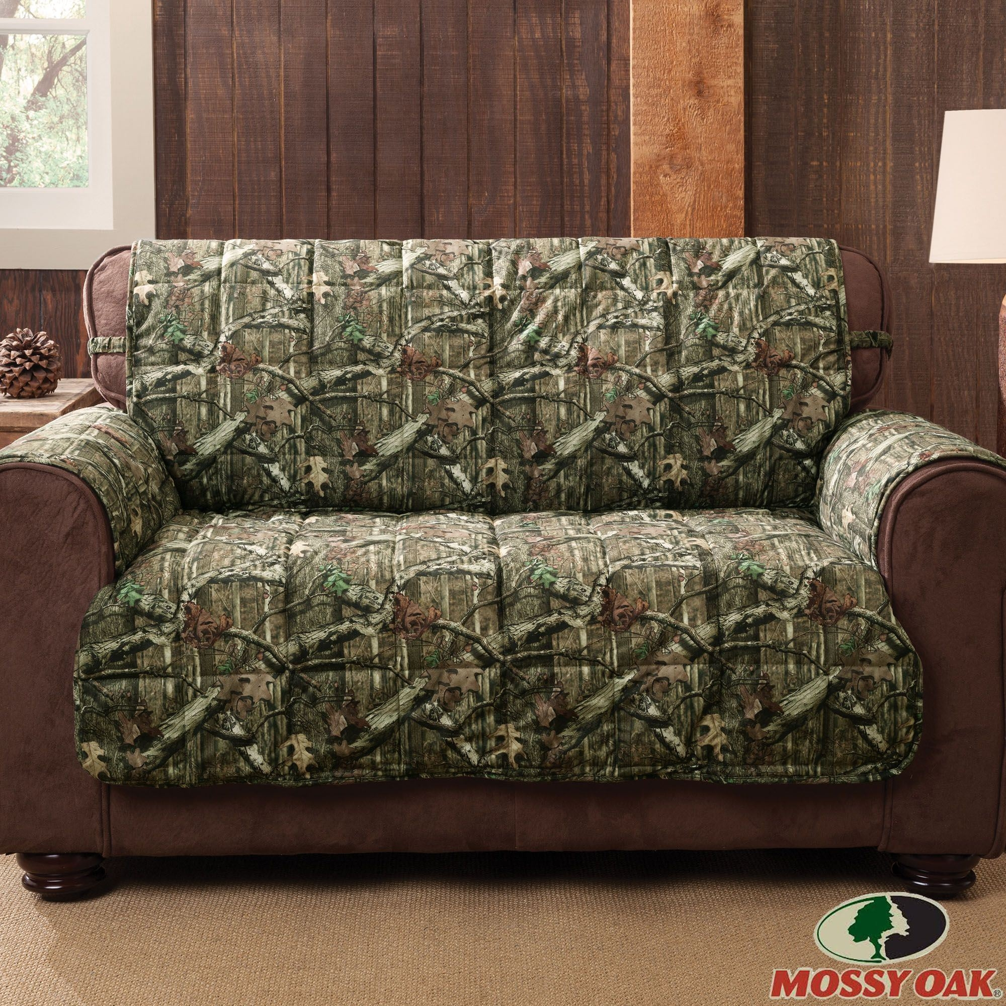 Mossy Oak Break Up Infinity Camo Furniture Protectors Regarding Camo Sofa Cover (Image 9 of 15)