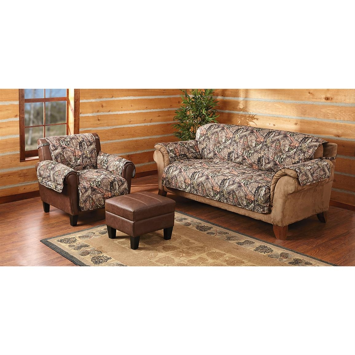 Mossy Oak Camo Furniture Covers 647980 Furniture Covers At In Camo Sofa Cover (Image 10 of 15)