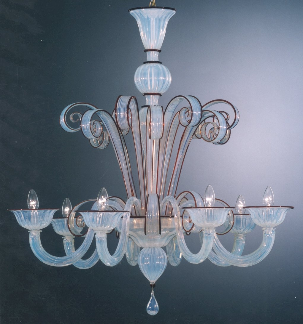 Murano Chandelier Fancy For Home Design Ideas With Murano Regarding Murano Chandelier Replica (Image 7 of 15)