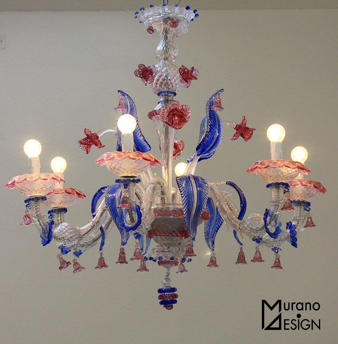 Murano Glass 5 Tips To Recognize The Real One With Regard To Murano Chandelier Replica (Image 9 of 15)