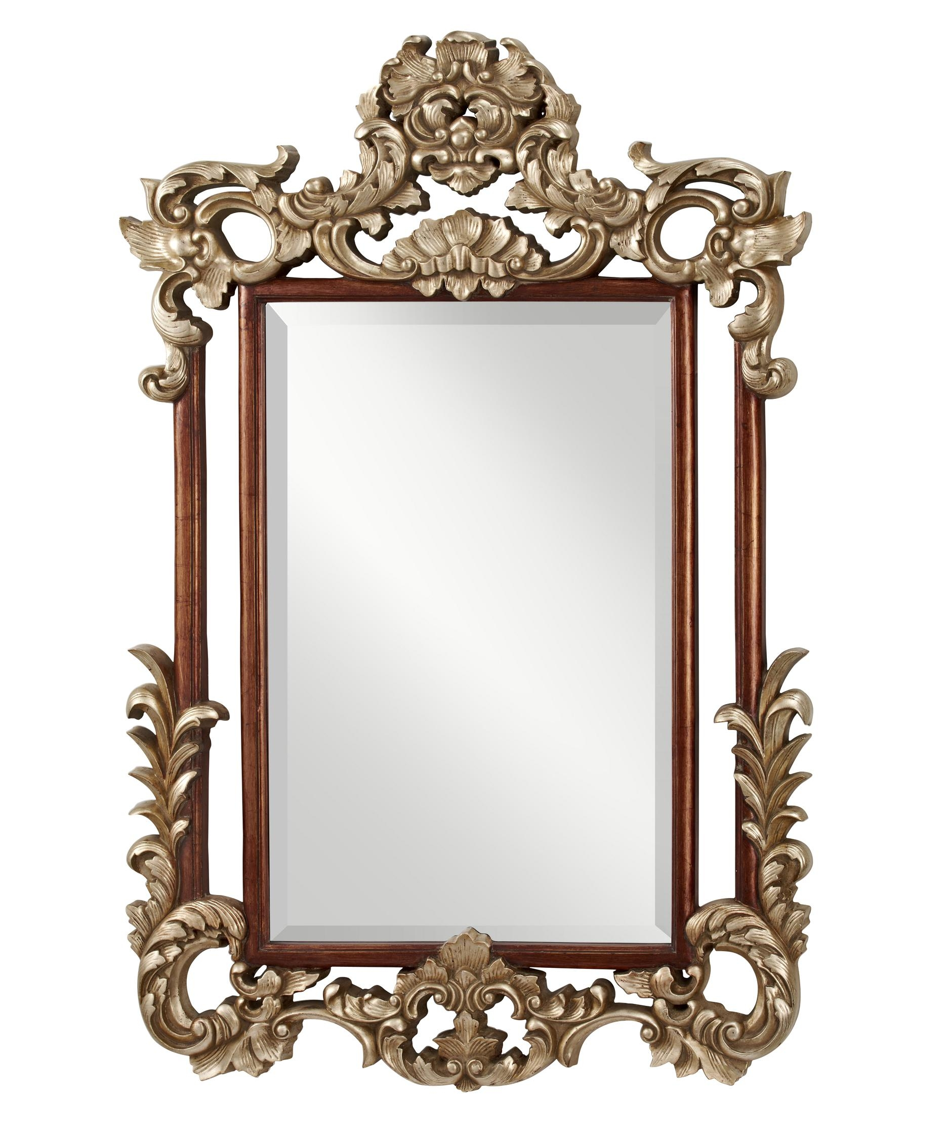 Murray Feiss Mr1128 Suzanne Wall Mirror Capitol Lighting 1 With Old Style Mirror (Image 10 of 15)