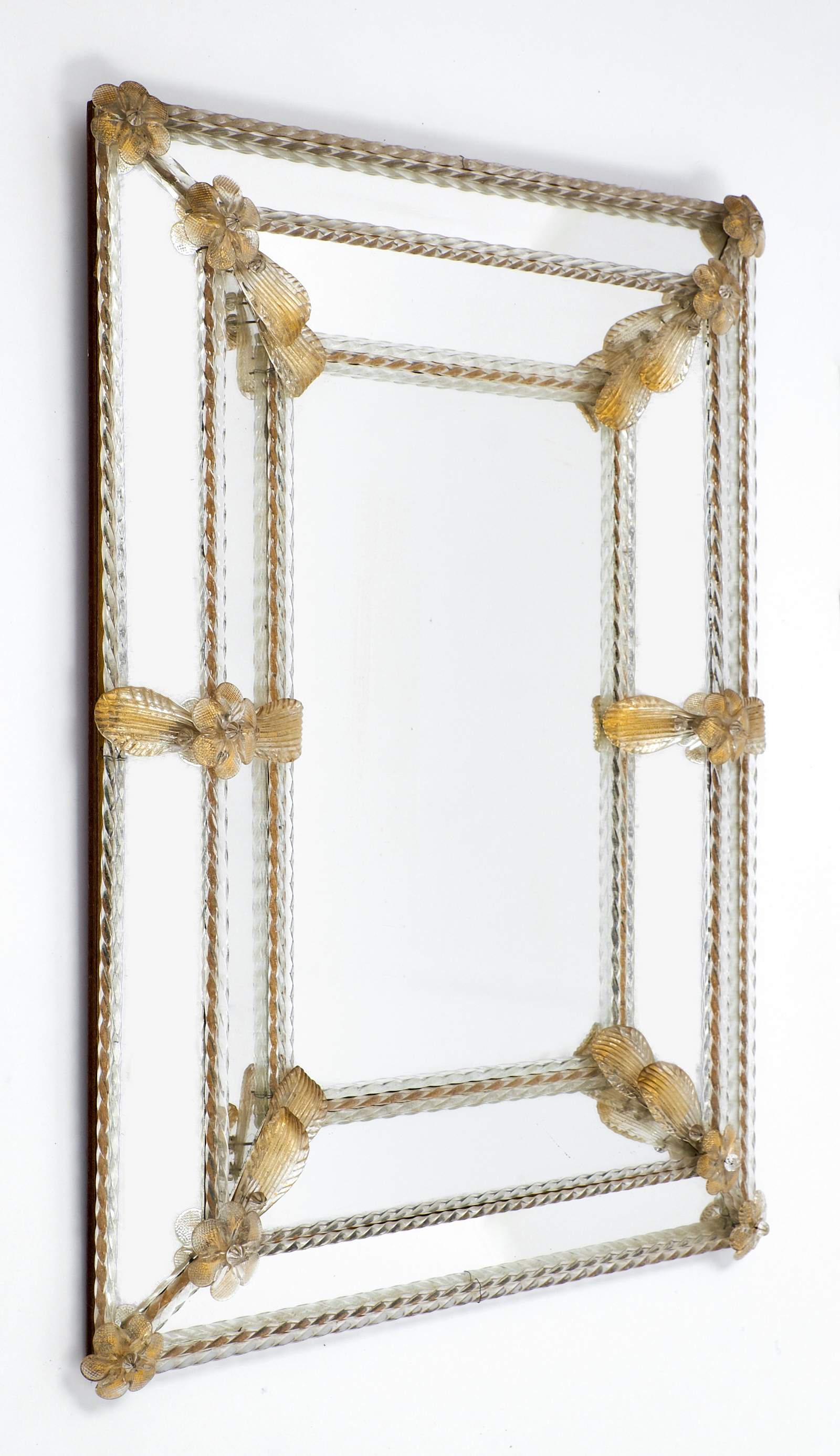 Napoleon Iii Period Avventurina Gold Venetian Mirror Jean Marc Within Gold Venetian Mirror (Image 10 of 15)