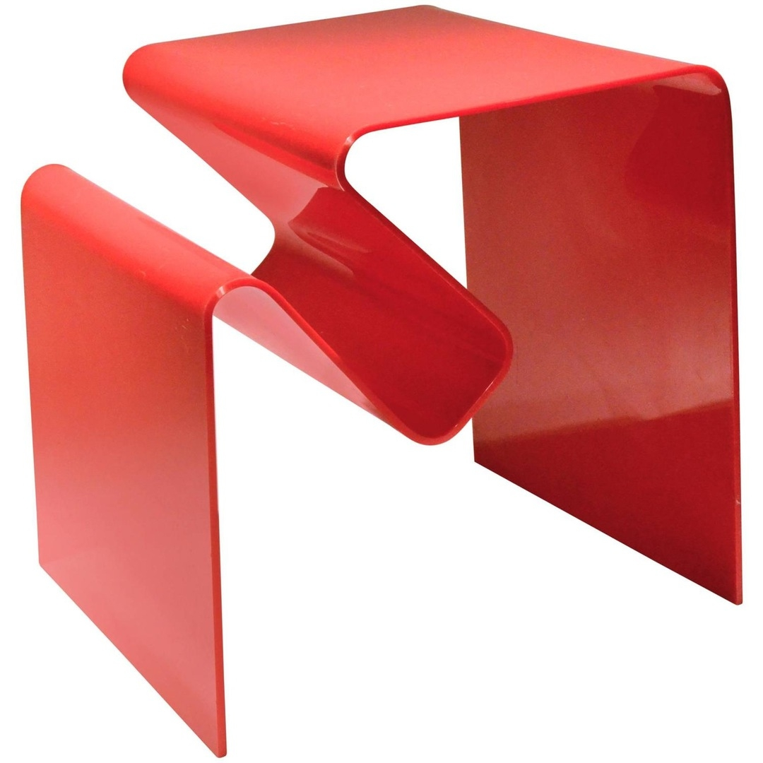 Neal Small Furniture Lighting Mirrors More For Sale At Sculptural Pertaining To Red Mirrors For Sale (Image 12 of 15)