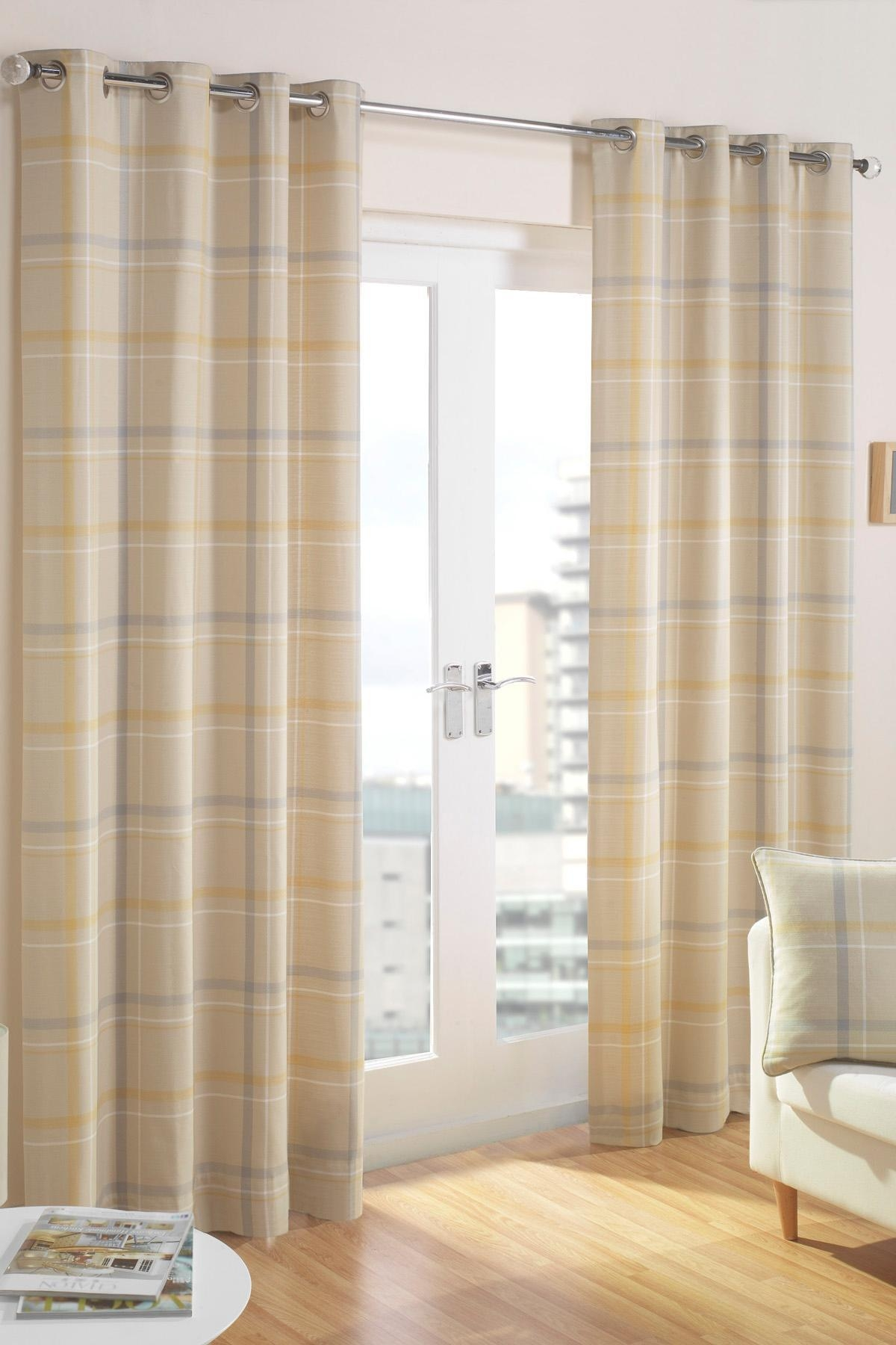 Neutral Eyelet Curtains Pertaining To Sheer Eyelet Curtains (Image 8 of 15)