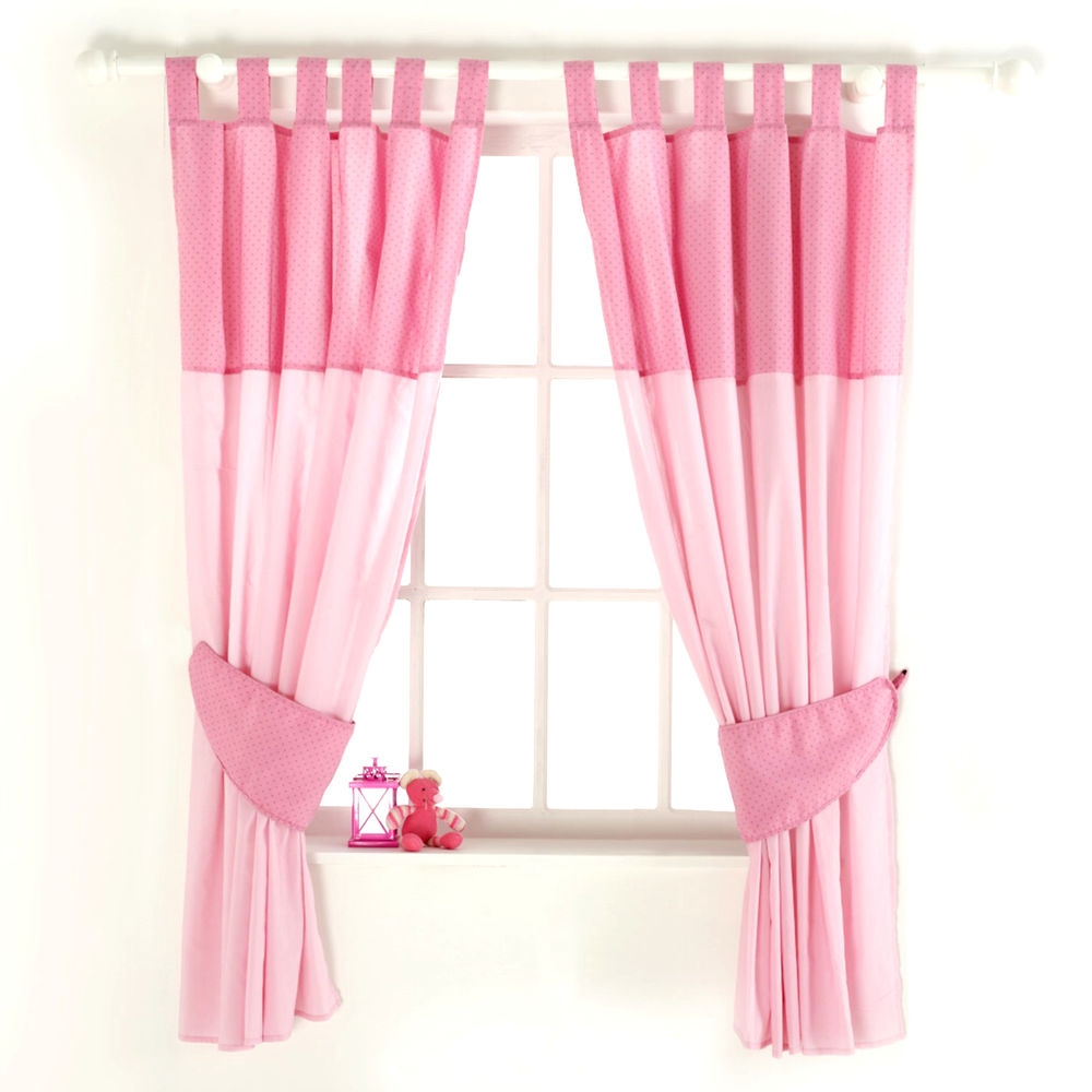 New Red Kite Pink Princess Pollyanna Ba Nursery Curtains With Inside Nursery Curtains (Image 10 of 15)