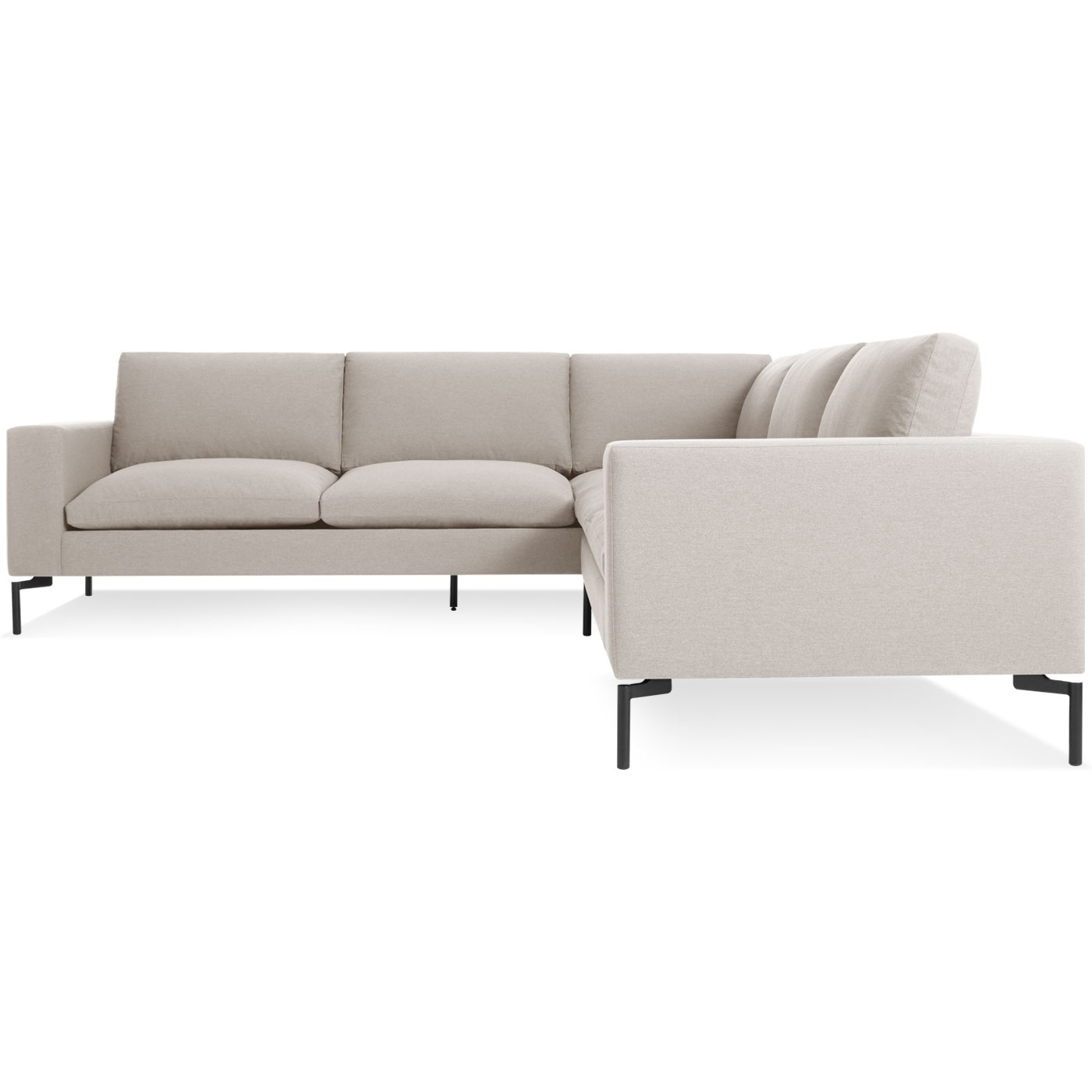 New Standard Small Sectional Sofa Modern Sofas Blu Dot Throughout Small Sectional Sofa (Image 5 of 15)