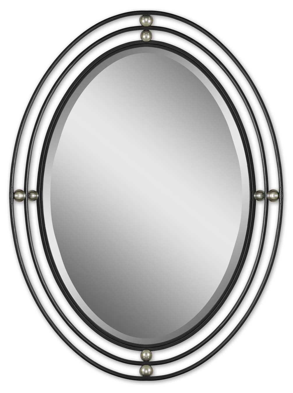 New Traditions Collection Mirror Lady Welcome To The Webs With Regard To Black Oval Mirror (Image 7 of 15)