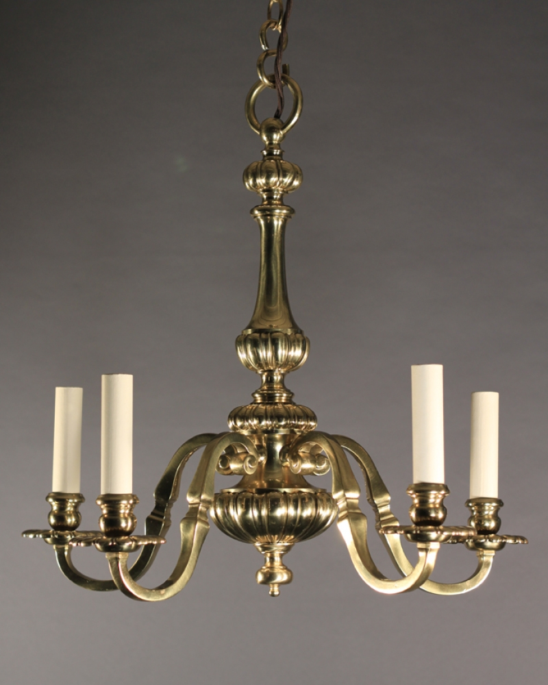 Nice Antique Brass Chandelier 98 For Your Home Decoration Ideas With Regard To Old Brass Chandelier (Image 12 of 15)