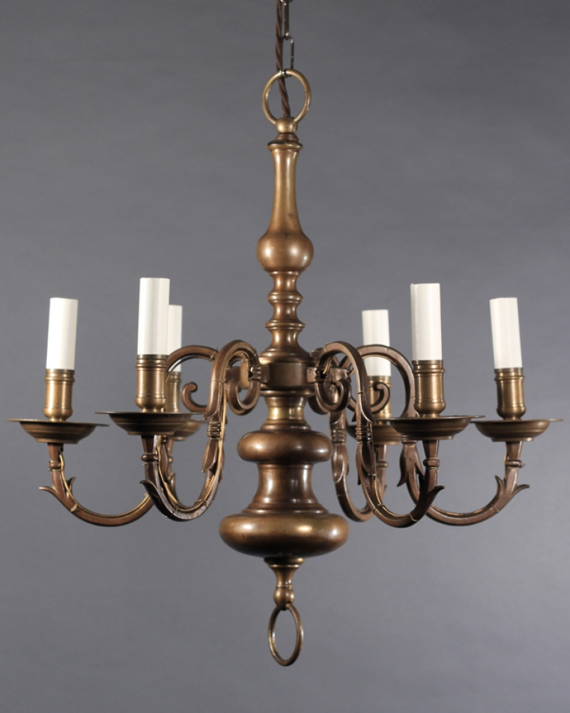 Nice Antique Brass Chandelier 98 For Your Home Decoration Ideas With Regard To Old Brass Chandelier (Image 11 of 15)