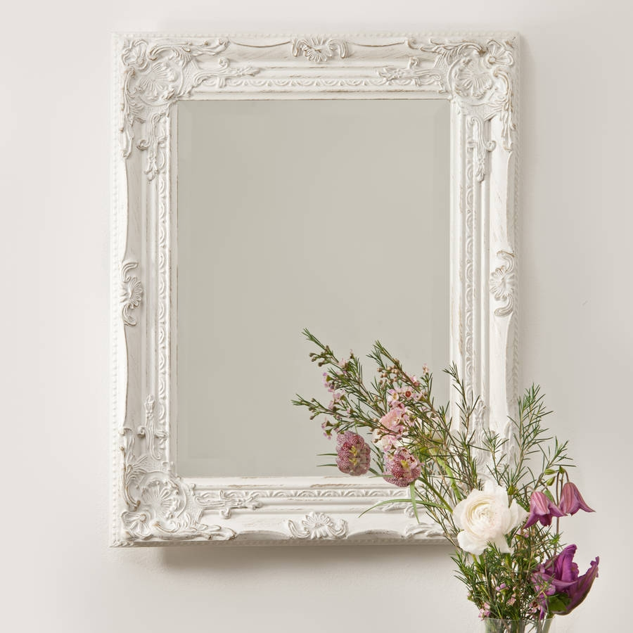 Nice Ideas Vintage Wall Mirrors Marvellous Design French Vintage Pertaining To French Vintage Mirror (Image 11 of 15)