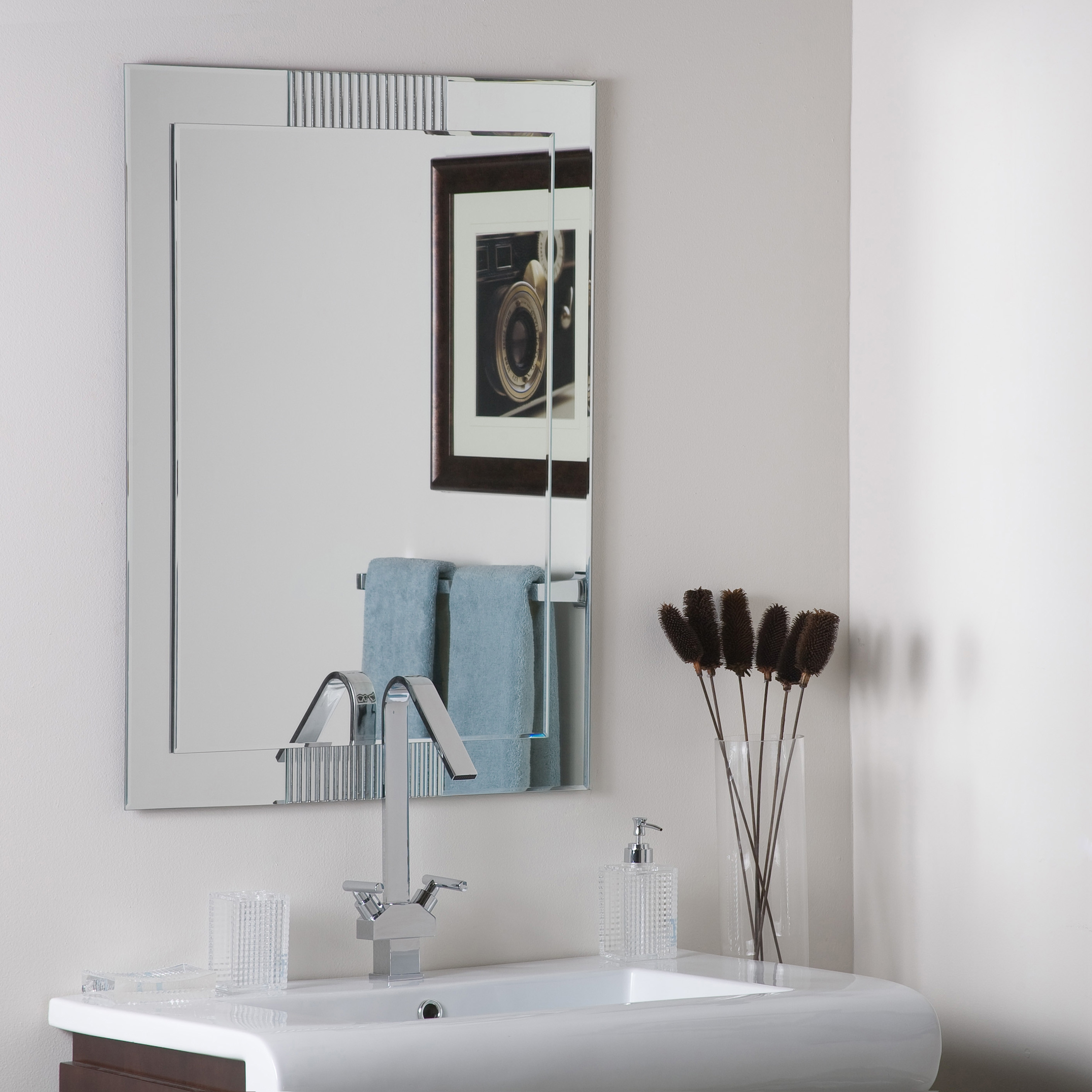 Nice Ideas Wayfair Wall Mirrors Astonishing Wade Logan Modern With Regard To Contemporary Wall Mirrors (Image 14 of 15)