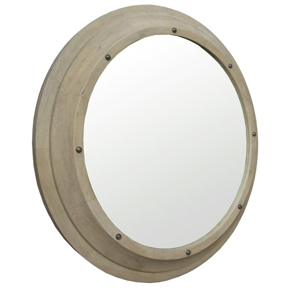 Noir Porthole Mirror Candelabra Inc For Round Porthole Mirror (Image 5 of 15)