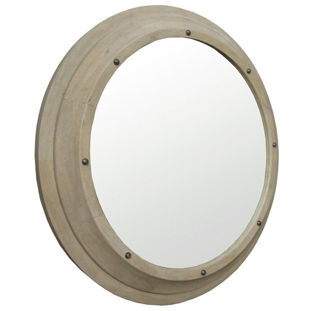 Noir Porthole Mirror Candelabra Inc Regarding Porthole Style Mirror (Image 11 of 15)