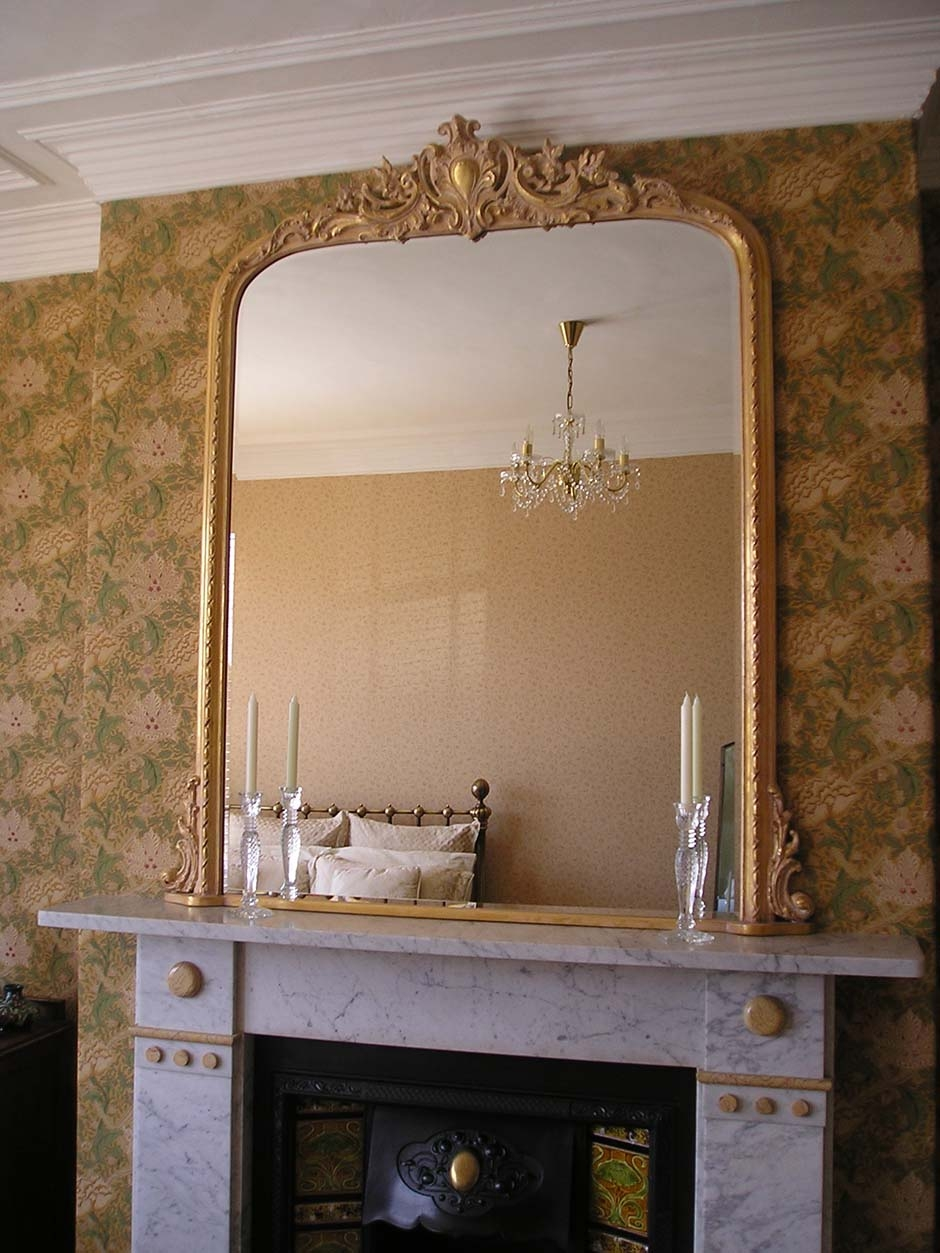Northumbria Mirrors Arched Mirrors Throughout Gold French Mirror (Image 12 of 15)