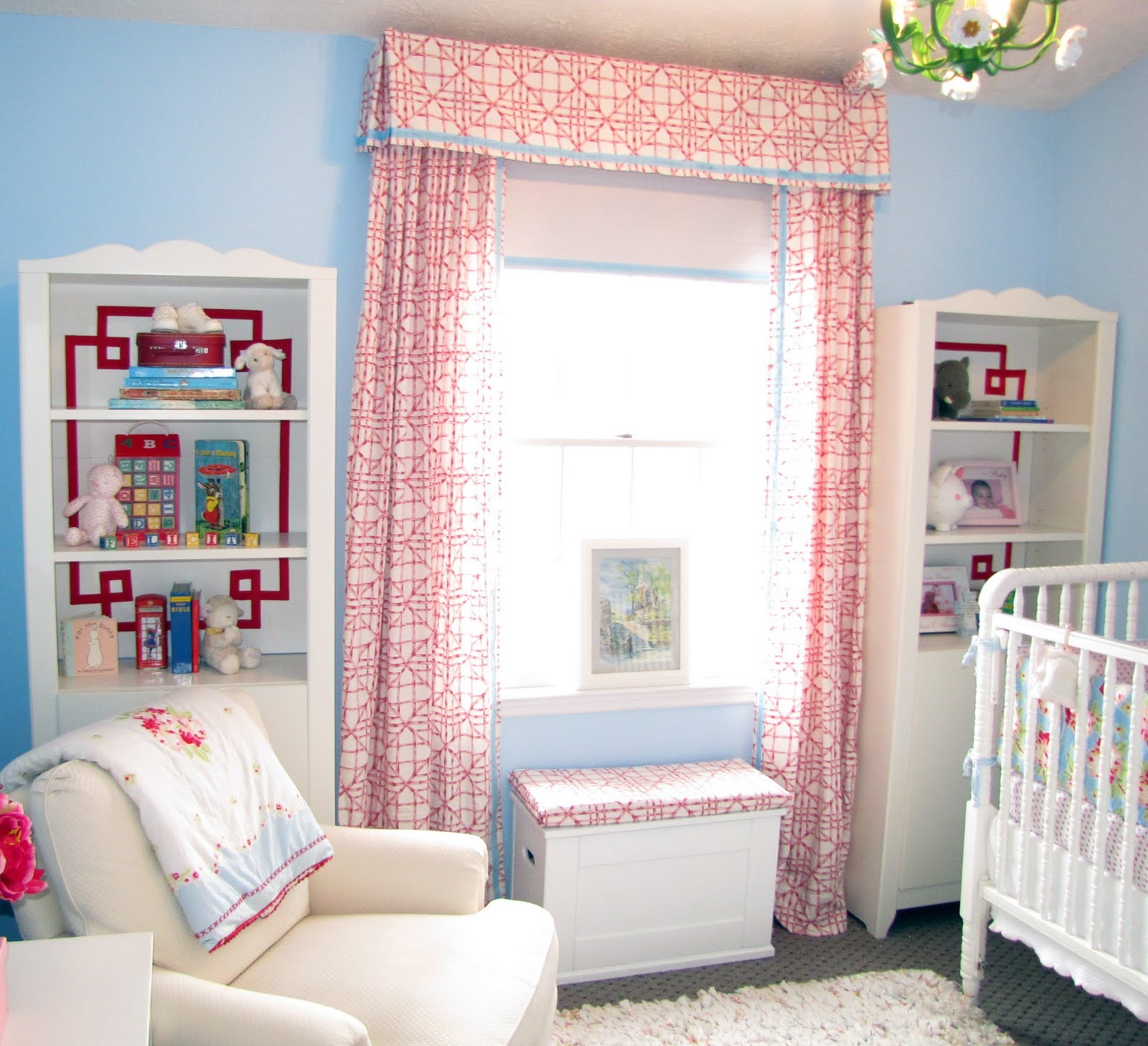 Nursery Curtains Furniture Ideas Deltaangelgroup Within Nursery Curtains (Image 12 of 15)