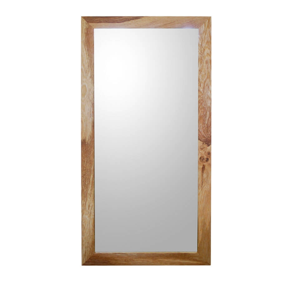 Oak Framed Mirror Large With Regard To Large Oak Framed Mirror (Image 14 of 15)