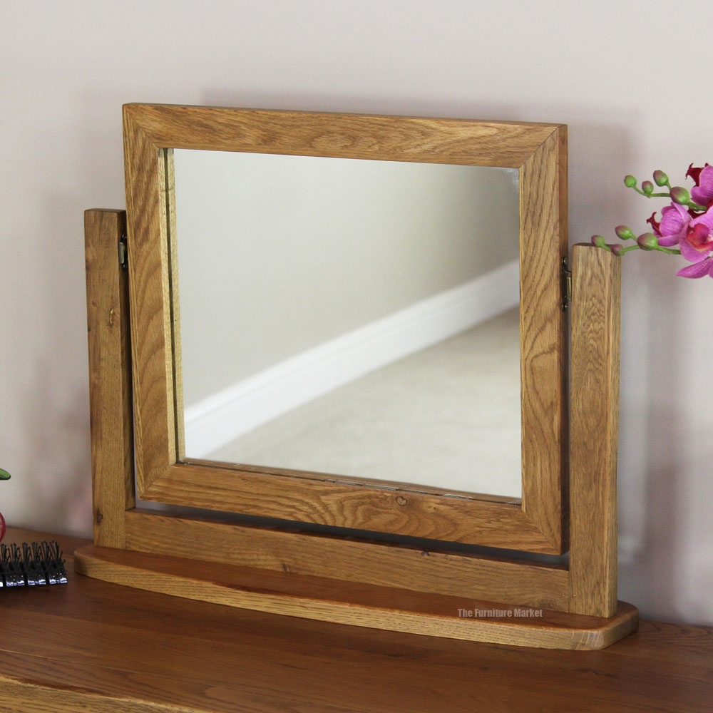Oak Framed Mirrors Vintage Oak Framed Mirror With Coat Hooks Inside Rustic Oak Framed Mirrors (Image 10 of 15)