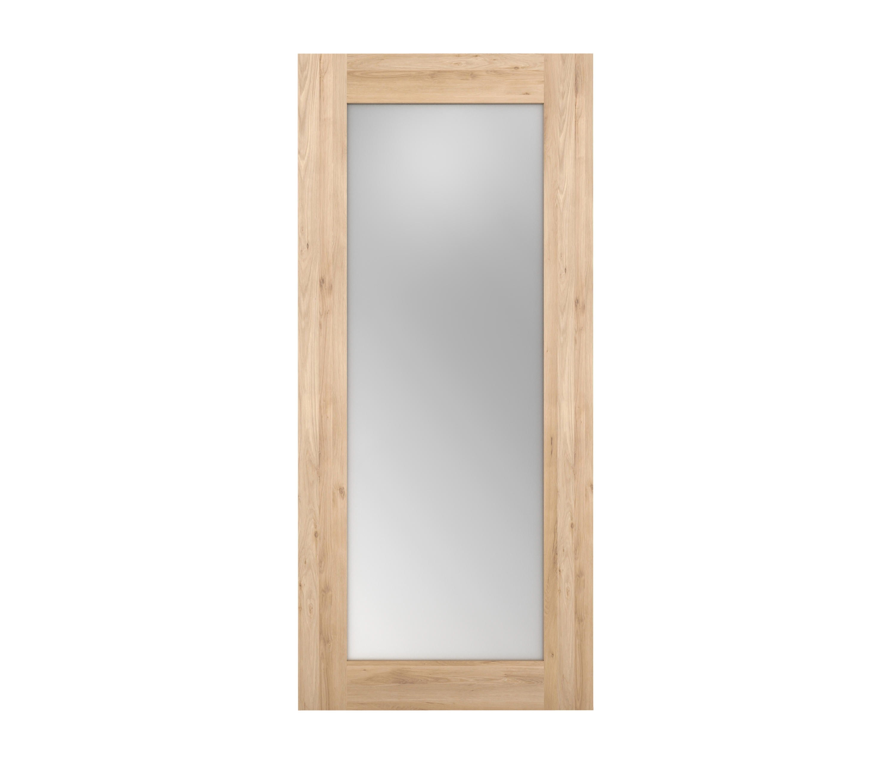 Oak Mirror Mirrors From Ethnicraft Architonic In Oak Mirrors (Image 10 of 15)