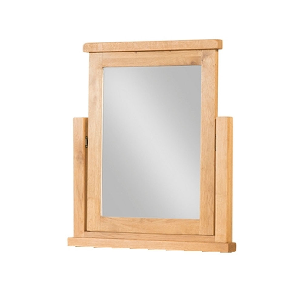 Oak Mirrors With Regard To Oak Mirrors (Image 12 of 15)